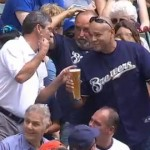 Brewers Broadcasters Buy Fan New Beer After Spill