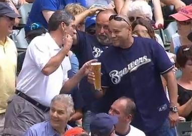 Brewers fan