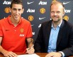 Record signing: Argentina winger Ángel di María's move from Real Madrid to Manchester United has been confirmed