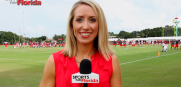Bucs Training Camp Jenna Laine
