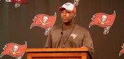 Tampa Bay Buccaneers head coach Lovie Smith