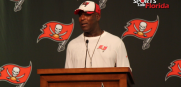 Bucs head coach Lovie Smith
