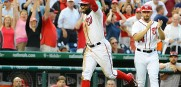 Tampa's own Denard Span is part of the fun in Washington