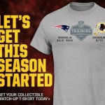 NFL Selling T-Shirt Remembering Training Camp