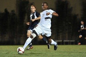 UCF Soccer Romario WIlliams