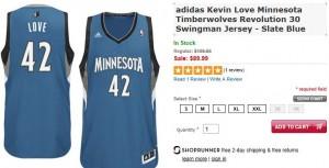 love jersey sale