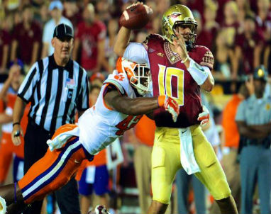 Back up QB Sean Maguire helped FSU upset Clemson keeping the Noles title hopes alive