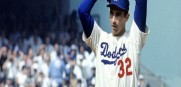Dodgers star pitcher Sandy Koufax  sat out starting game 1 of the 1965 World Series to attend Yom Kippur services.