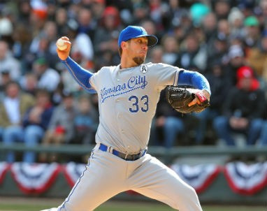 The Royals hope that former Rays star James Shields can pitch them past the A's