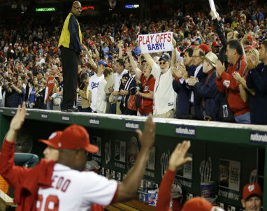 The Washington Nationals and their fans are ready for the NLDS starting Friday