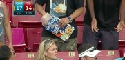 Cereal at Bucs game