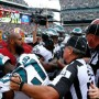 Eagles' Foles Involved In Benches-Clearing Brawl