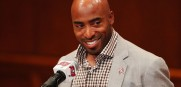Former Bucs star Ronde Barber will join Chris Myers on the FOX broadcast of the Bucs-Carolina game