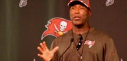Bucs Falcons Lovie Smith