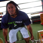 Marshawn Lynch Works Out with Skittles and It's Not What You Think