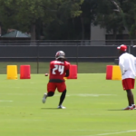 Bucs' Mike Jenkins Back Practicing, Jeff Tedford on the Mend