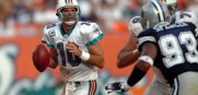 Trent Green who spent some time as the Dolphins QB will be in the booth calling Sunday's game vs. New England