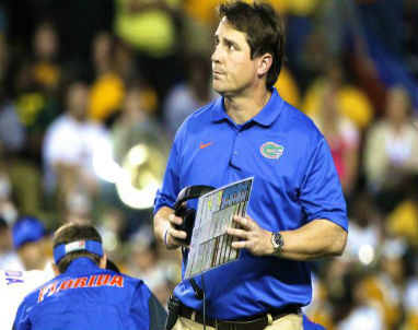After losing to the Tigers on Homecoming last night chances are very good that it was Florida coach Will Muschamps last game in Gainsville