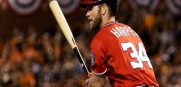 Bryce Harper was the lone offensive star for a punchless Nationals team who lost the NLDS to the Giants