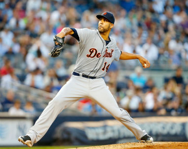 Former Rays star David Price will get the ball in Game 3 in Detroit on Sunday