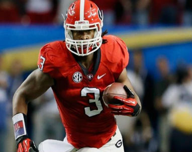 1. Georgia running back Todd Gurley is suspended and will be missed Saturday against Missouri