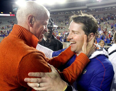 . Jeremy Foley and Will Muschamp back before things went bad at the University of Florida