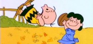 1. Lucy and Charlie Brown