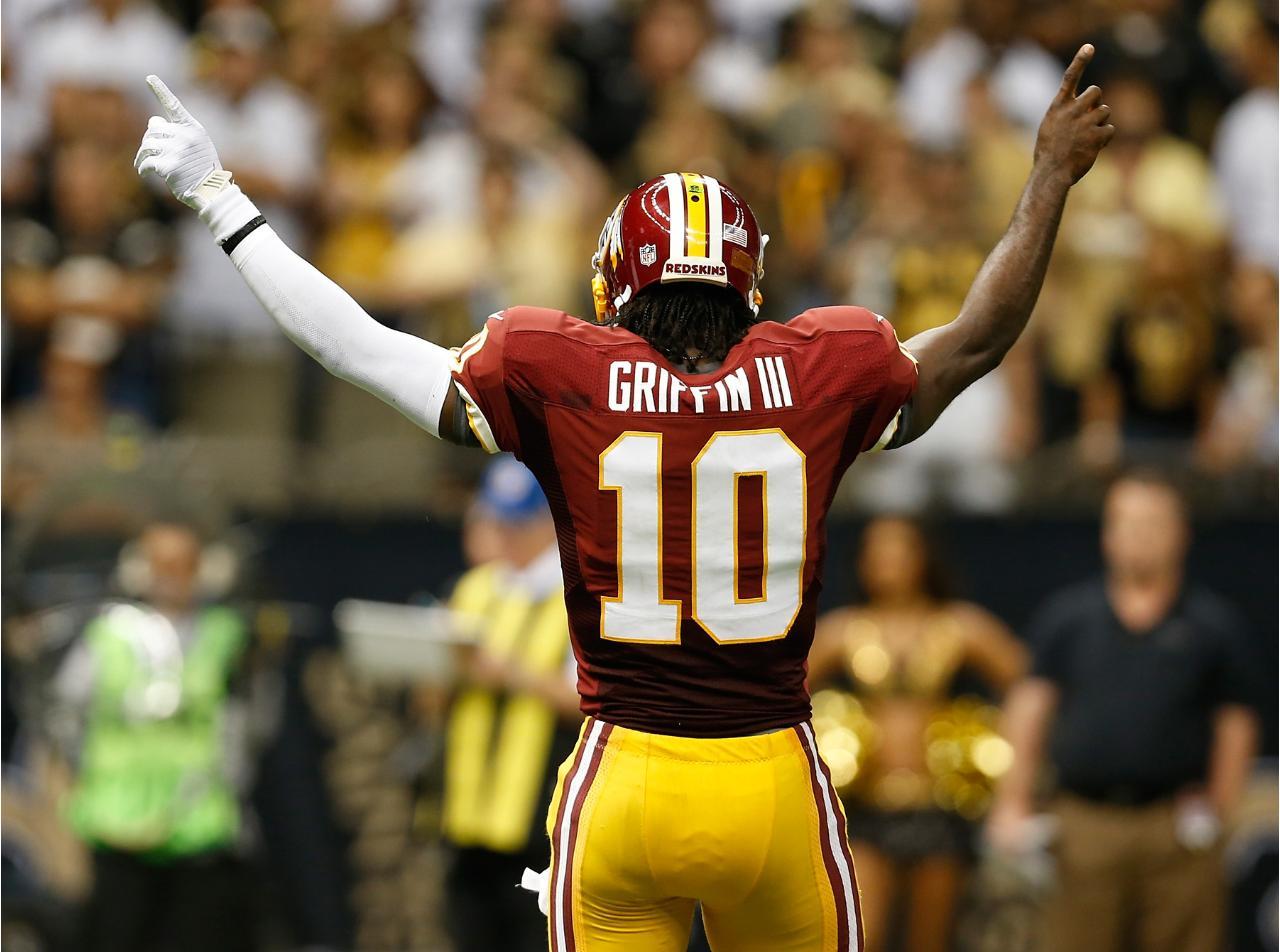 Redskins Rg3 Griffining When the Washington Redskins