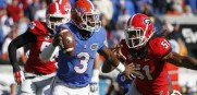 Florida Gators quarterback Treon Harris led his team to an upset win over Georgia last week