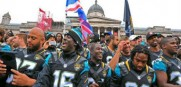 Jaguars fans come out in force in London