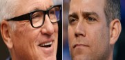 . Joe Maddon and his new boss Theo Epstein in Chicago with the Cubs