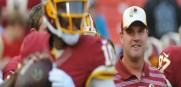 Redskins coach Jay Gruden said it's his job to get the most out of quarterback Robert Griffin III