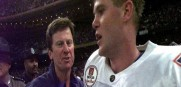 Steve Spurrier won the Gators first national title with Danny Wuerffel playing quarterback