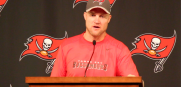 Bucs QB Josh McCown says he has no problems showing his emotions