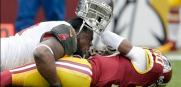 Bucs Redskins Gerald McCoy sack