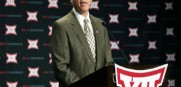 Big XII  commissioner Bob Bowlsby is fine sticking with ten teams going through 2015 and sees no need for expansion