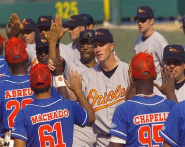 March 28 1999 file photo Baltimore Orioles were in Havana to play the Cuban National team