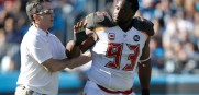 Bucs DT Gerald McCoy refuses help off the field