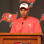 Leslie Frazier: Packers Will Provide Measuring Stick for Bucs Defense