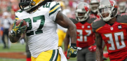 Bucs Packers Eddie Lacy touchdown run