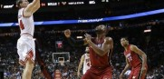 Bulls vs  Heat