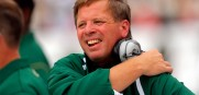 Colorado State head coach Jim McElwain is taking with the Gators about their job opening