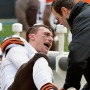 Johnny Manziel Leaves Game With Hamstring Injury