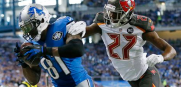 Bucs at Lions Johnthan Banks