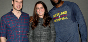 LeBron James and Kate Middleton