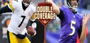 Ben Roethlisberger left and Joe Flacco will both be counted on to make the big play in tonight's AFC Playoff game in Pittsburgh