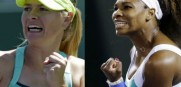 Maria Sharapova and Serena Williams face eachother in the Aussie Open Final Saturday