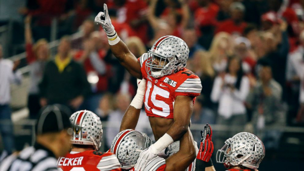 The Buckeyes Top The 2015 College Football Rankings