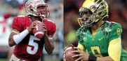 Winston and Mariota face off today at the Rose Bowl