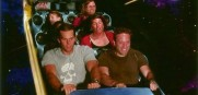 Tom Brady rides Space Mountain